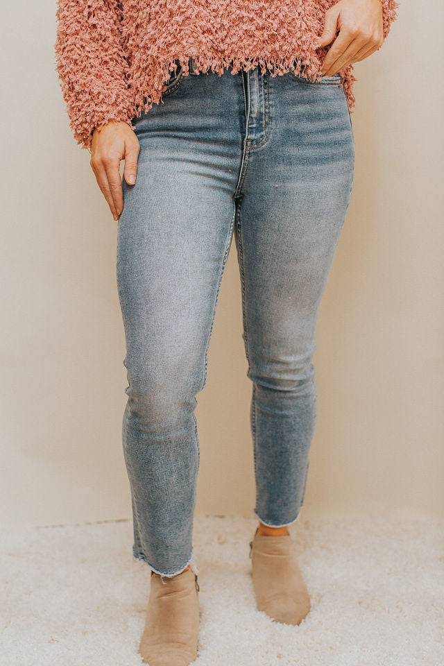 Super High Rise Slim Crop Jean