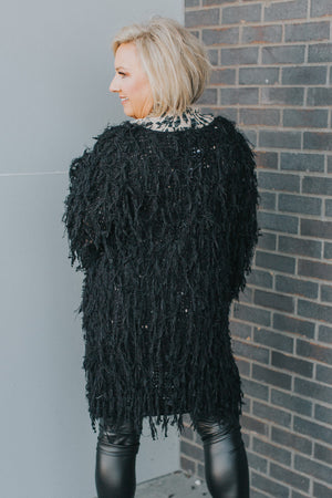 Fringe For Life Cardigan