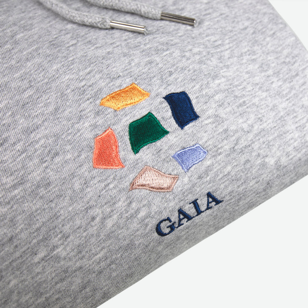 The Gaia Hood - Unisex Sweatshirt - Idioma