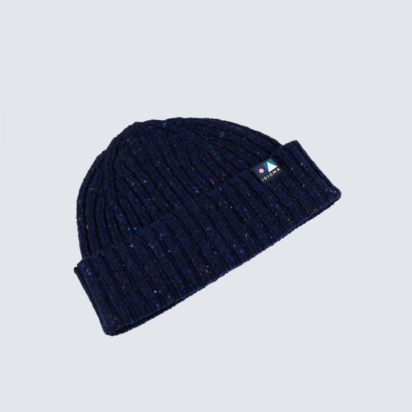 An Alba Wool Beanie - Galactic Depths