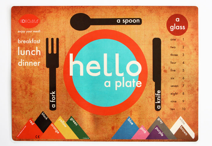 Language Learning Placemats - Accessories - Idioma