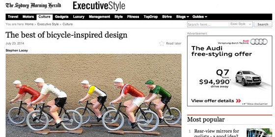 Sydney Morning Herald - The best of bicycle-inspired design