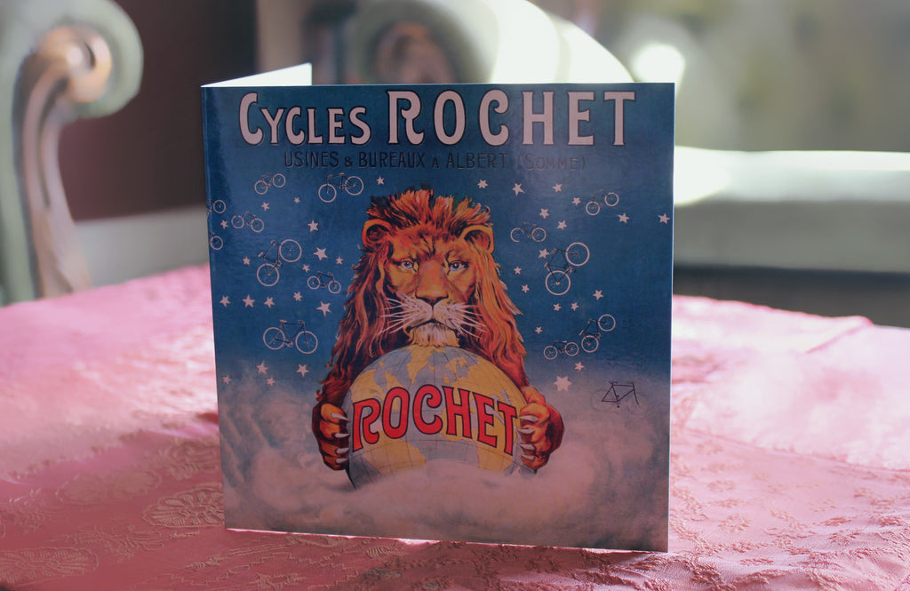 Cycles Rochet Bicycle Birthday Card