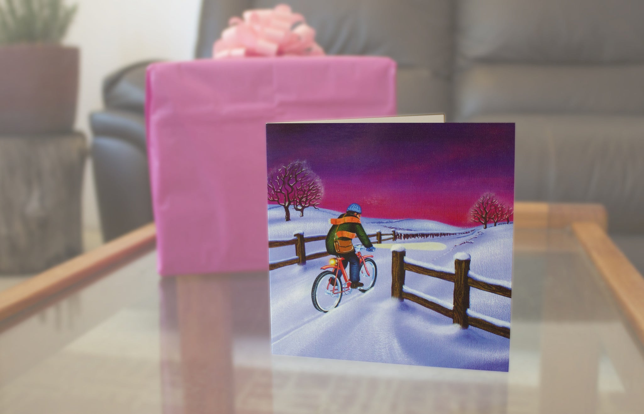 Bicycle themed Christmas Cards for cyclists - BicycleAge