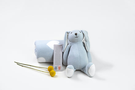 Image of Bunny and Blanket gift set