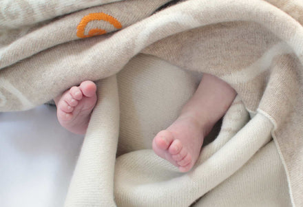 Tips for Caring for Your Cashmere Baby Blankets