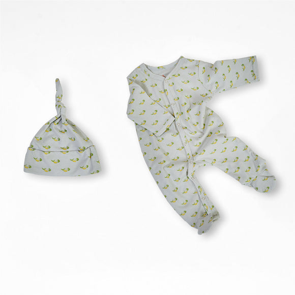 Elijah the Elephant Organic Cotton Baby Set 3