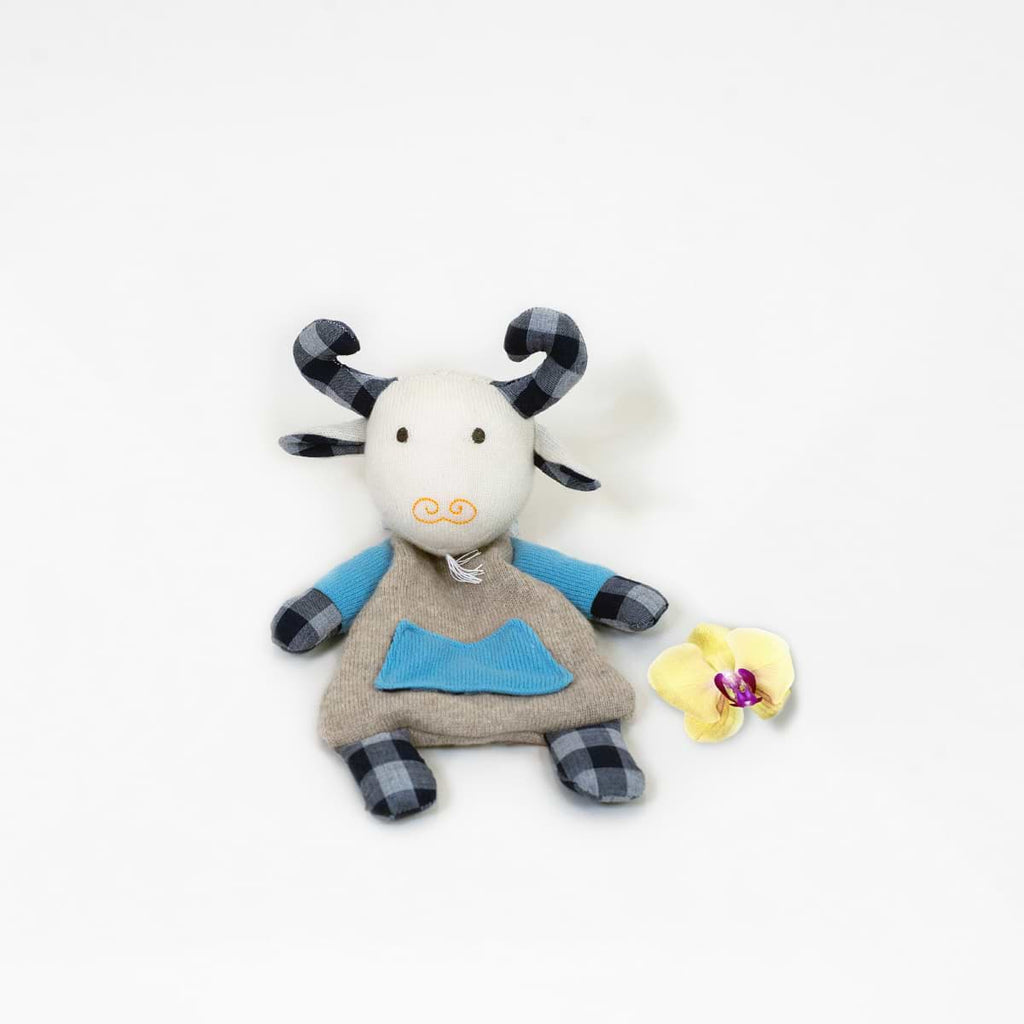 Gavin The Goat Cashmere Plush Toy