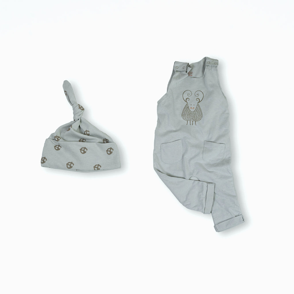 Gavin the Goat Organic Cotton Baby Set 2