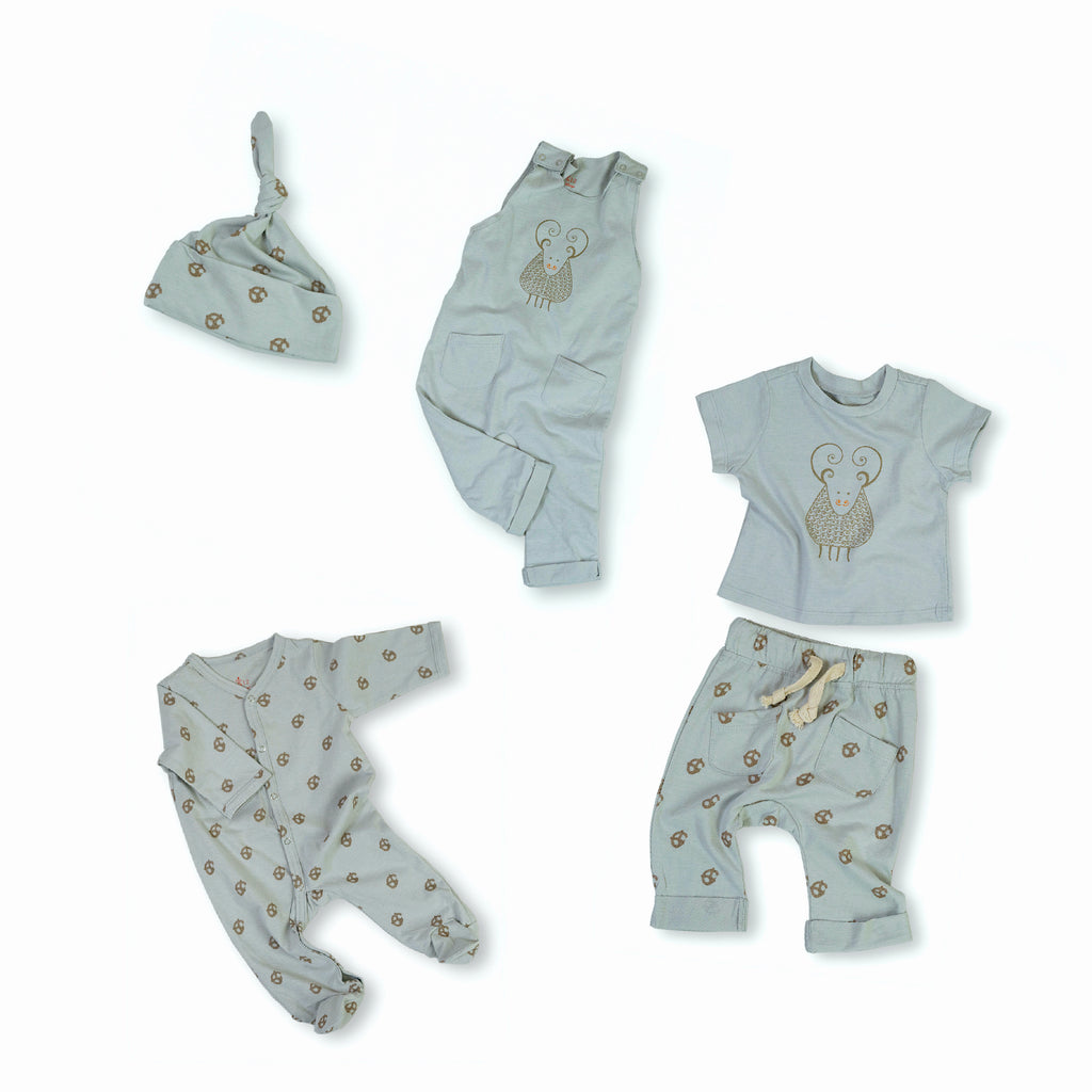 Gavin the Goat Organic Cotton Baby Set