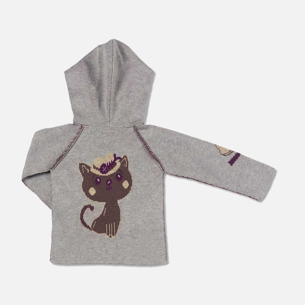 Kiwi the Cat Cashmere Blend Toddler Hoodie