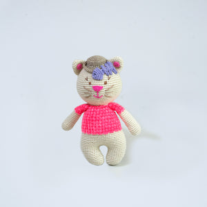 Kiwi Cat Cashmere Toy