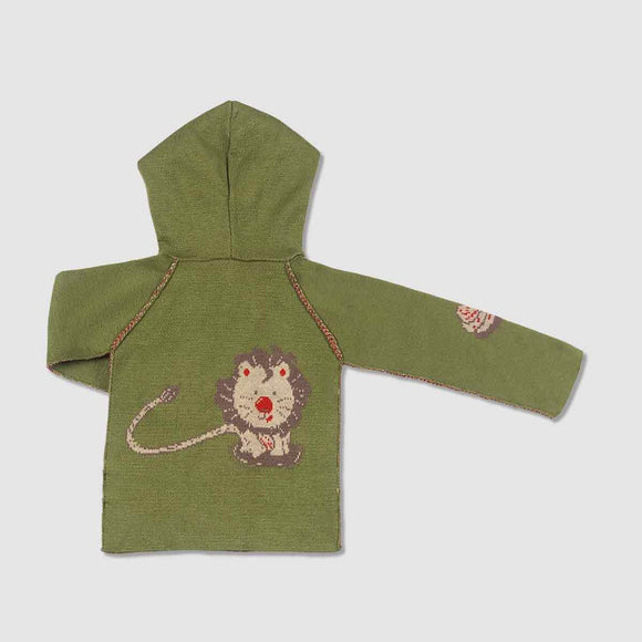 Liam the Lion Cashmere Blend Toddler Hoodie