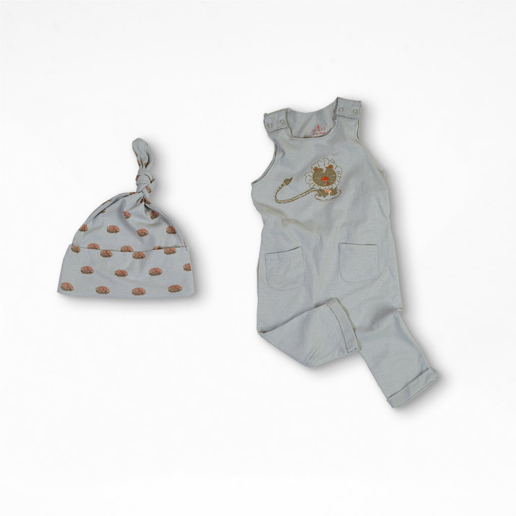 Liam the Lion Organic Cotton Baby Set 2