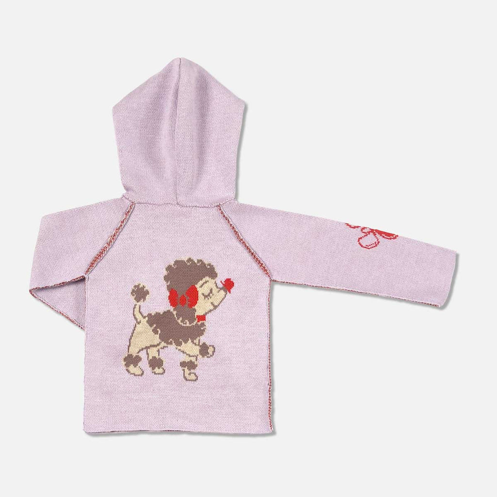 Penelope the Poodle Cashmere Blend Toddler Hoodie