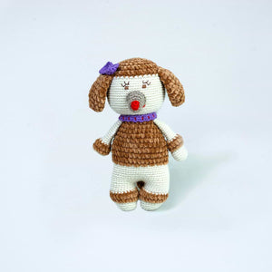 Penelope Poodle Cashmere Toy