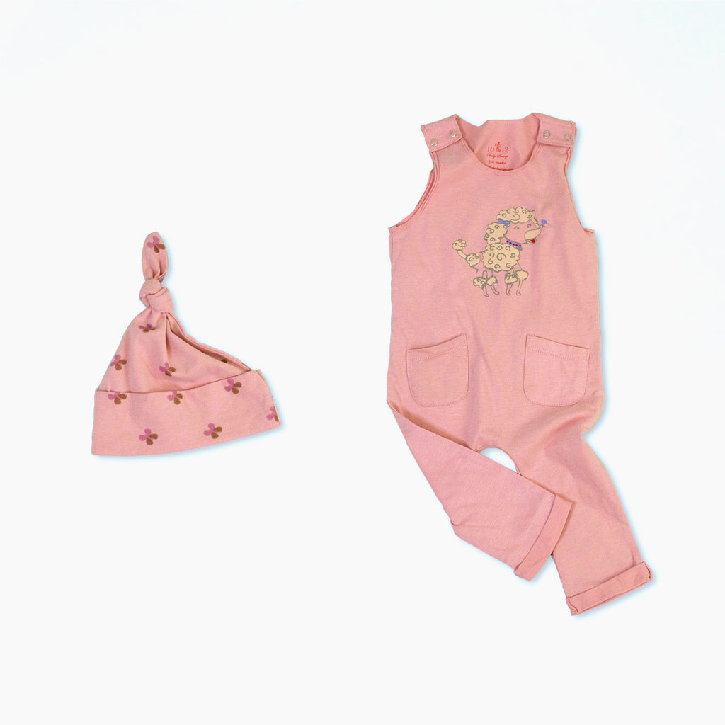 Penelope the Poodle Organic Cotton Baby Set 2