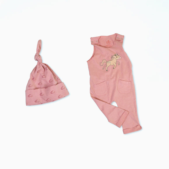 Uma the Unicorn Organic Cotton Baby Set 2