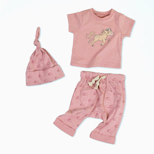 Uma the Unicorn Organic Cotton Baby Set 1