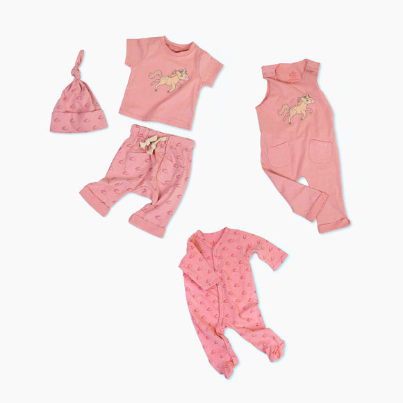 Uma the Unicorn Organic Cotton Baby Set