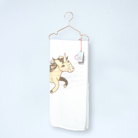 Uma the Unicorn Organic Cotton Muslin