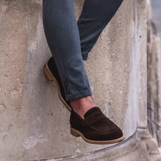 Krum Djermanov Styles Hugs & Co. Crepe Sole Loafers