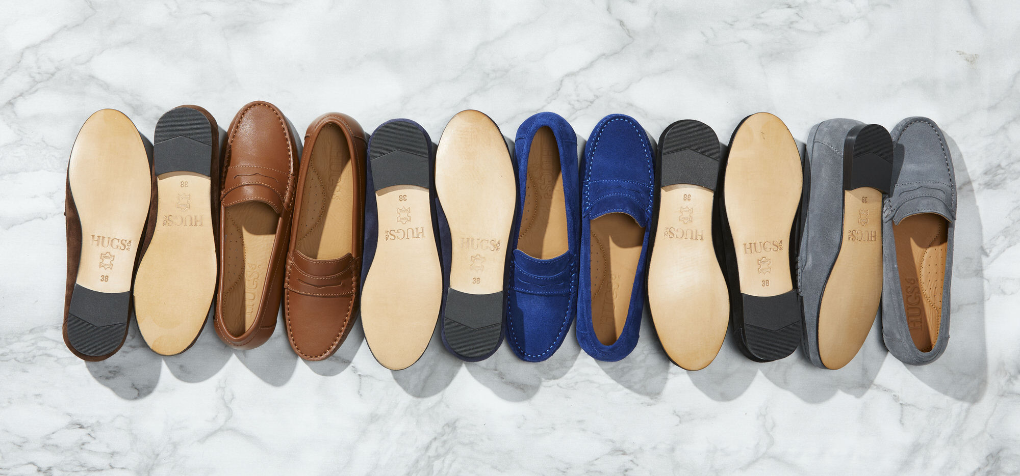 Hugs & Co. penny loafers
