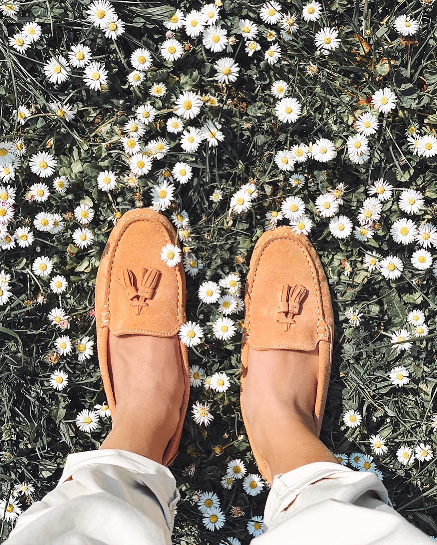 Hugs & Co. suede loafers