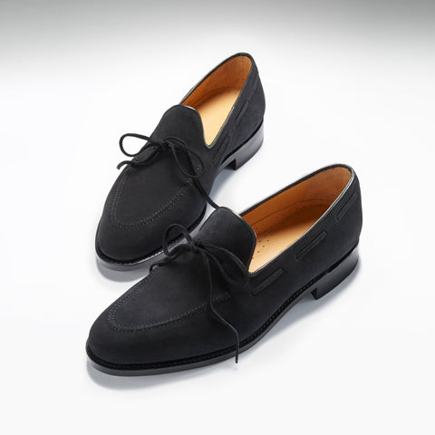 hugs and co suede loafers