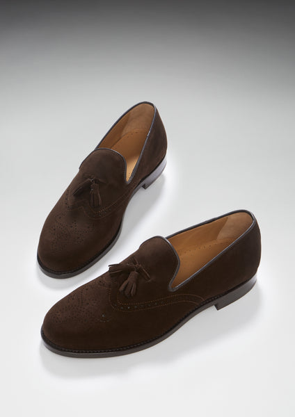 hugs & co suede brogues