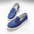 Sneaker Loafers, bright blue suede