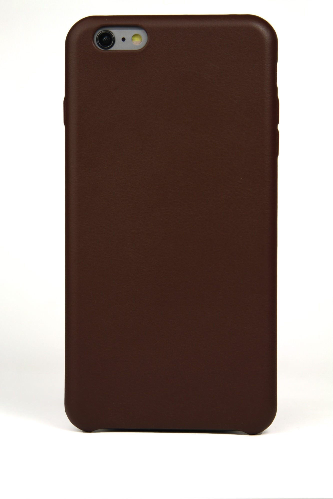 iPhone 6 Plus Case, Brown Leather