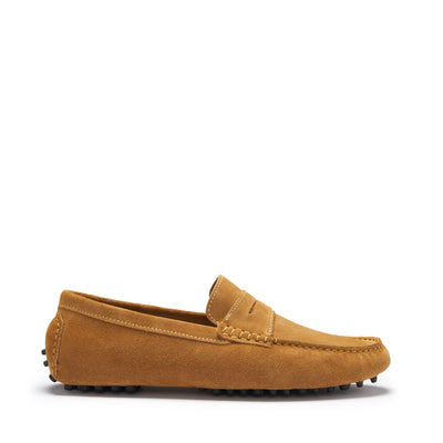 Penny Driving Loafers, tobacco suede