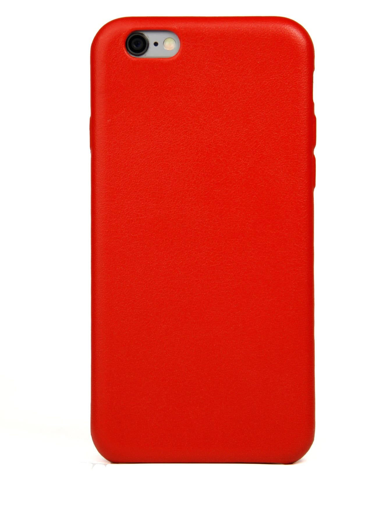 iPhone 6 Case, Red Leather