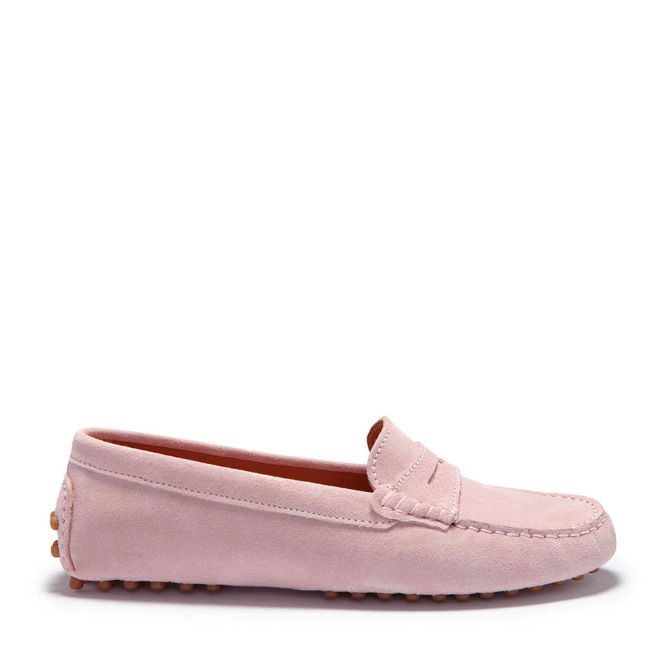Women's Penny Driving Loafers, ice pink