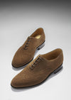 Brogues Brown Suede