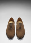 Brogues Brown Suede Front