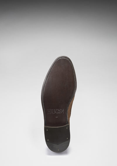 Solde Brogues Brown Suede