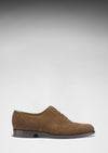 Brogues Brown Suede Side