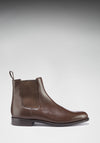 Chelsea Boots Brown Leather Side