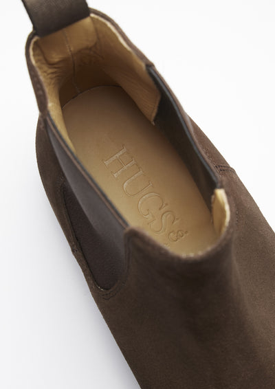 Insole, Chelsea Boots Brown Suede