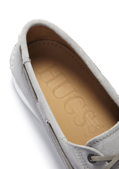 Insole, Deck Shoe Dove Grey Suede