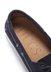 Insole, Deck Shoe Navy Blue Suede