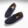 Penny Driving Loafers, blue suede