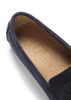 Penny Driving Loafers, navy blue suede