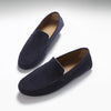 Driving Loafers Navy Suede