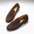 Men's Penny Loafers, brown suede
