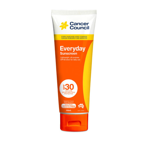 Cancer Council Everyday SPF 30+ Sunscreen 110ml Tube
