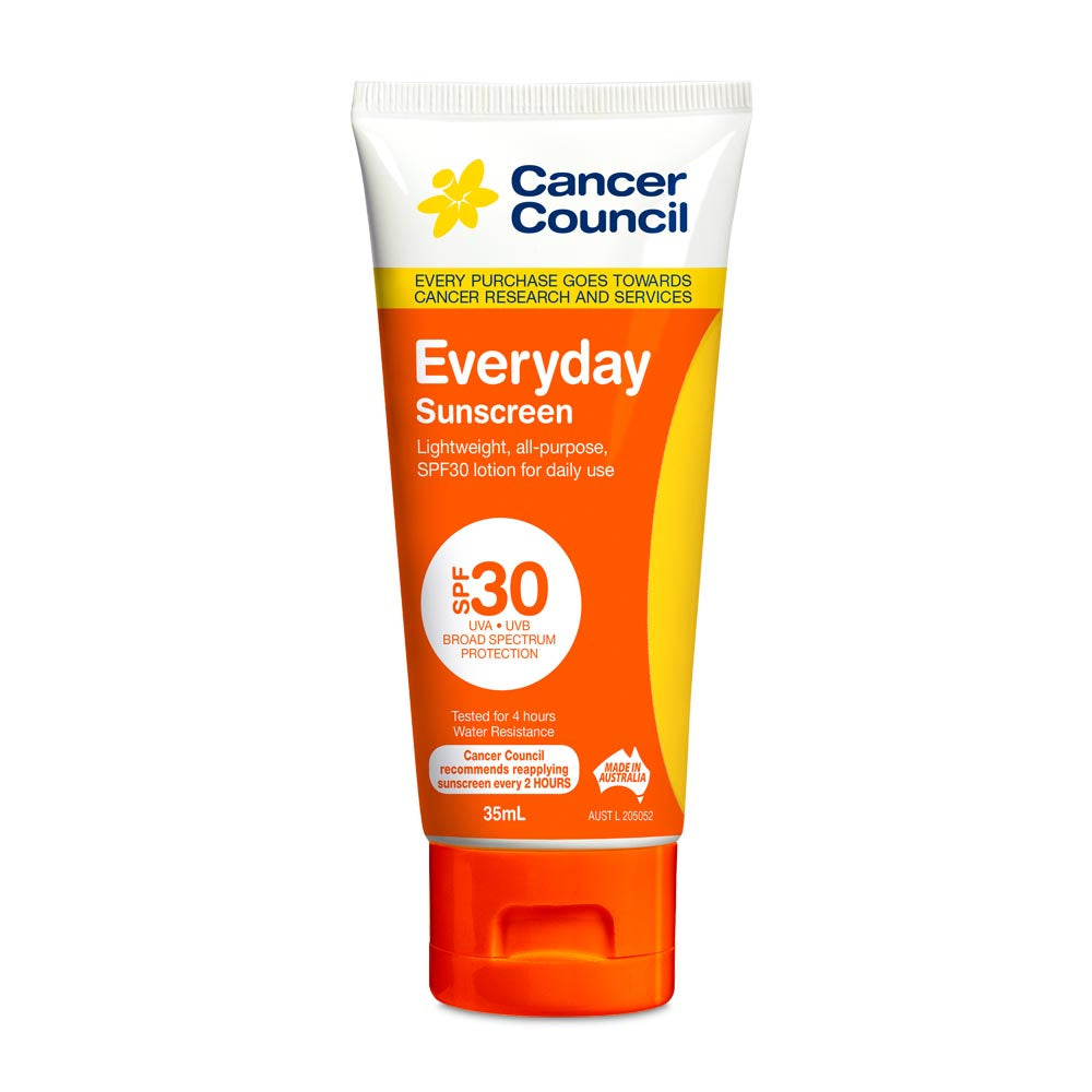 Cancer Council Everyday SPF 30+ Sunscreen 35ml 'Traveller'