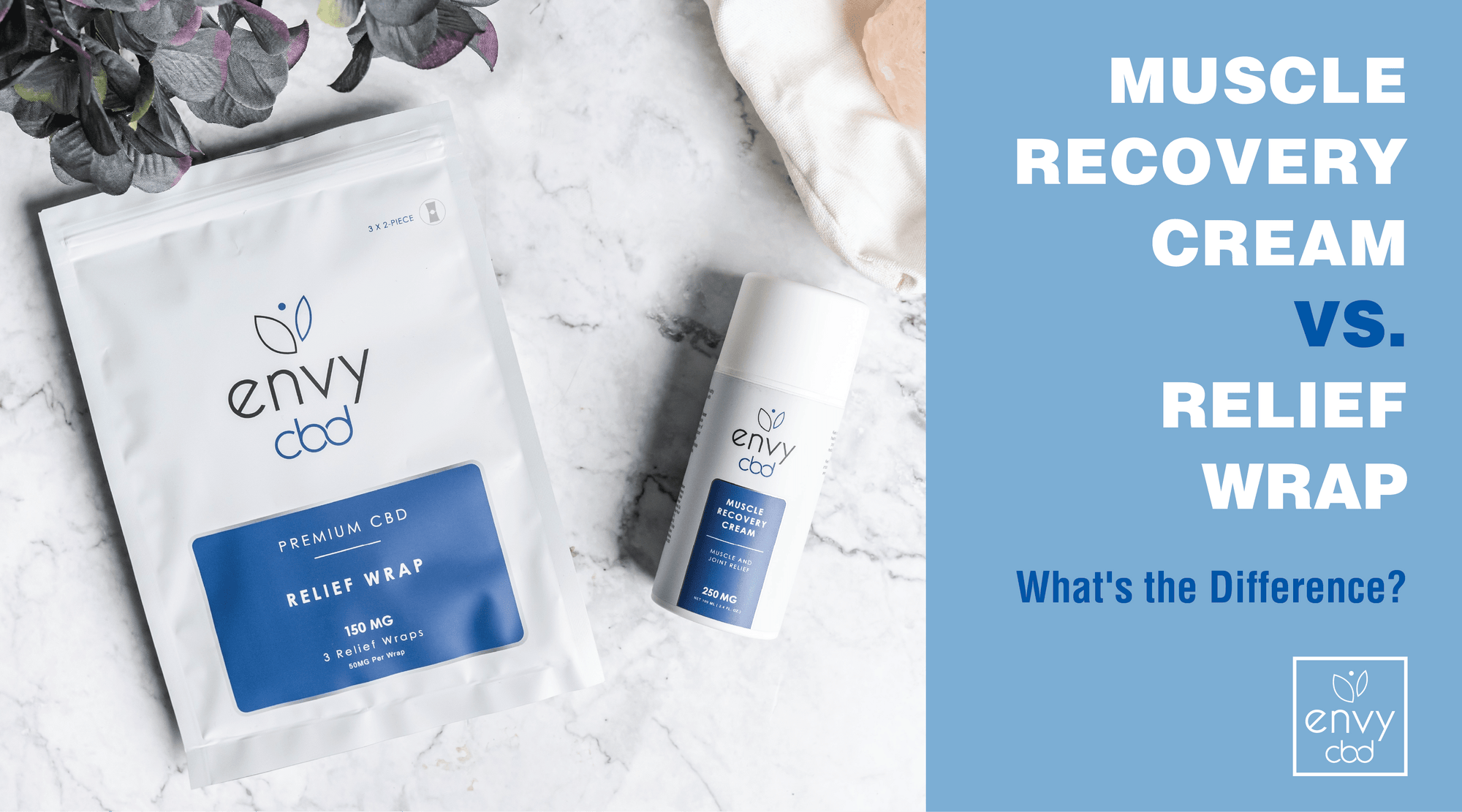 Muscle Recovery Cream vs. Relief Wrap - What's the Difference?